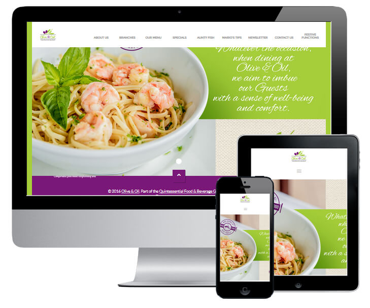 Olive & Oil Website