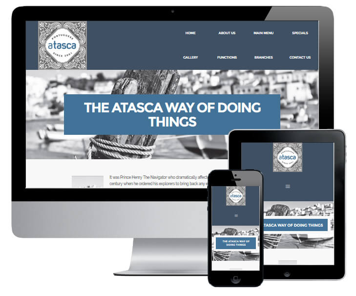 ATasca Website Design