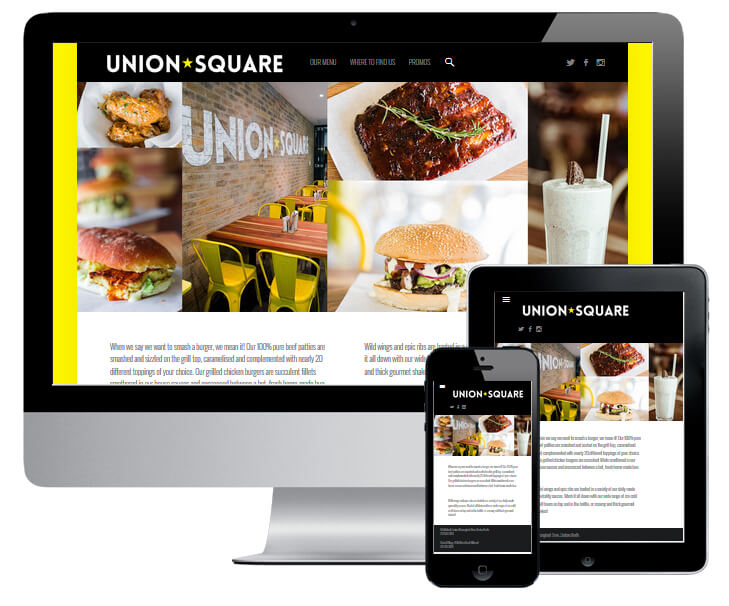 Union Square Website